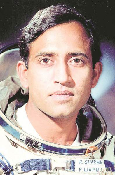 On April 3, 1984, Rakesh Sharma flew aboard the Soviet Soyuz T-11 rocket to the space station Salyut 7.