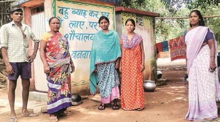 Swachh Bharat Mission, Swachh Bharat abhiyan, ODF, Jharkhand ODF, Jharkhand toilets, Open defecation free, Gutuatoli, jharkhand village, jharkhand woman builds toilet for all, jharkhand villge ODF, india news