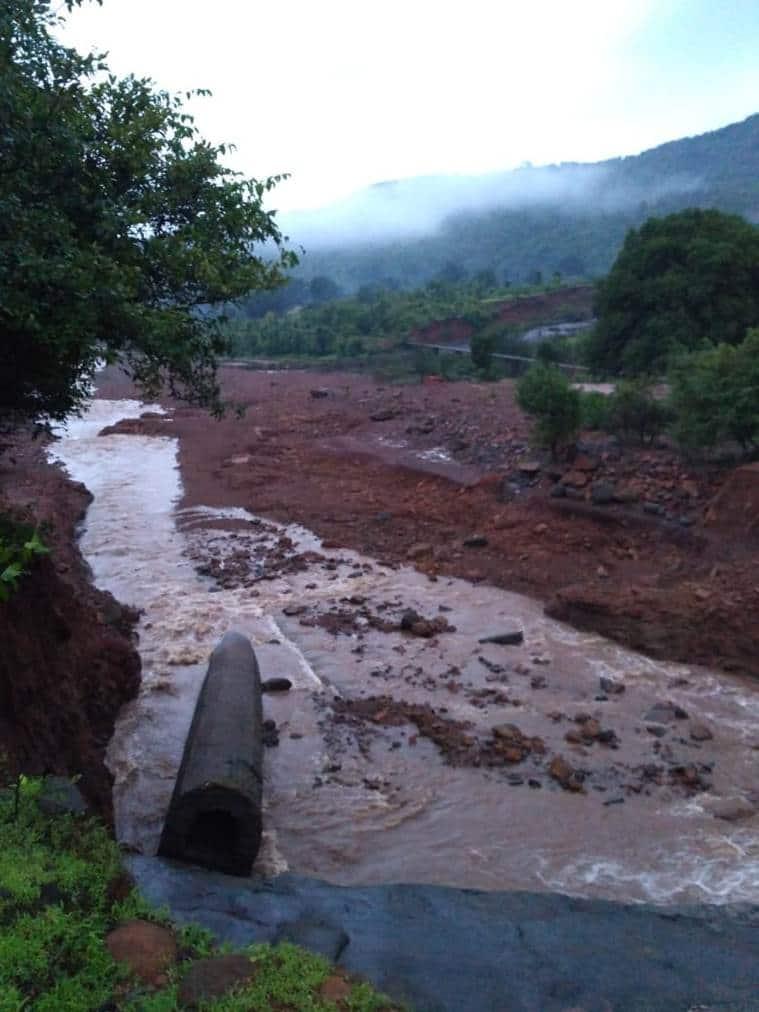 ratnagiri dam, ratnagiri dam breach, dam breach ratnagiri, maharashtra rains, maharashtra dam flooding, maharashtra news