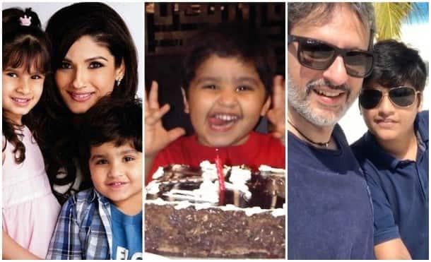 Raveena Tandon son Ranbir Vardhan 12 birthday