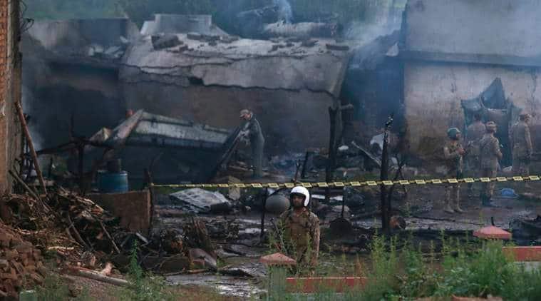 rawalpindi airplane crash, rawalpindi crash, rawalpindi crash death toll, rawalpindi airplane crash death toll, rawalpindi military airplane crash, Pakistan air crash, military plane crashes in pakistan