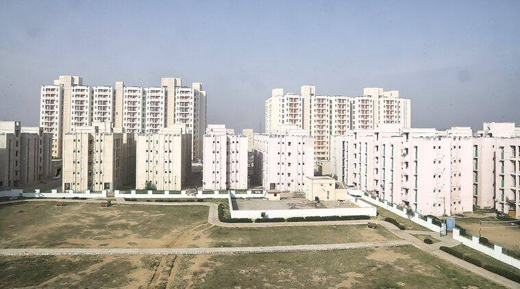 real estate, real estate india, investment, real estate investment, jll, indian real estate market, co working spaces, office spaces, financial crisis, indian express news