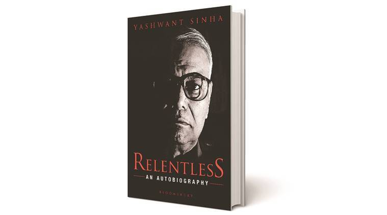 Yashwant sinha book, Musharraf, Relentless: An Autobiography, Relentless: An Autobiography  book review, Indiane xpress book review