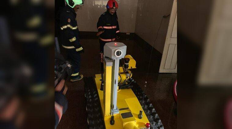 Mumbai MTNL building blaze: How a robot came to aid of the fire brigade