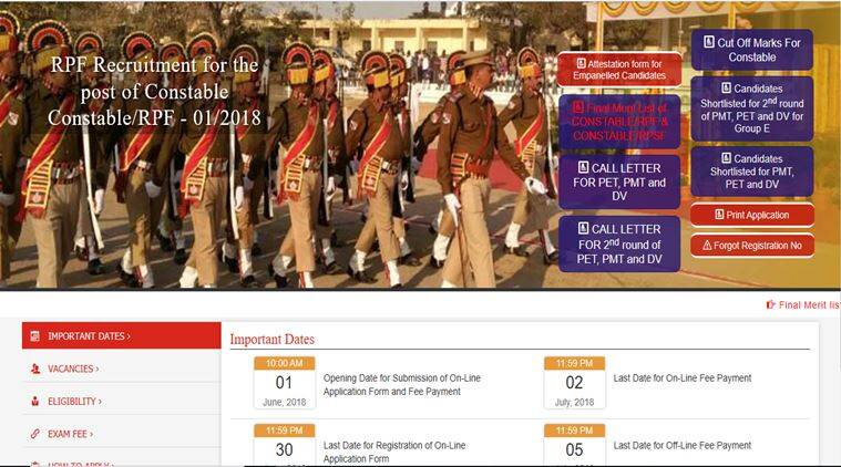 RPF constable final merit list released: How to check   Jobs