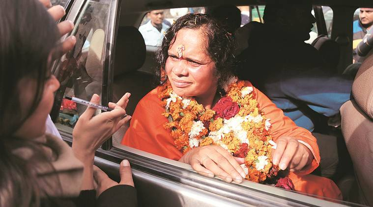 Sadhvi Prachi, VHP leader Sadhvi Prachi, Sadhvi Prachi MPs terrorist remark, Sadhvi terrorists in House remark, terrorists in Parliament remark, india news
