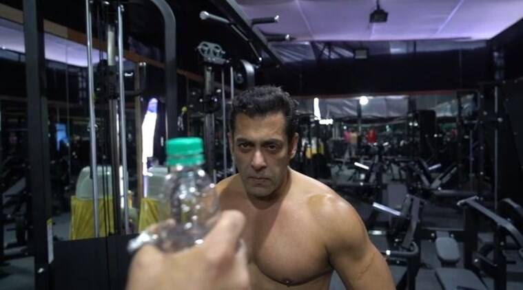 Shirtless Salman Khan's bottle cap challenge comes with a life lesson