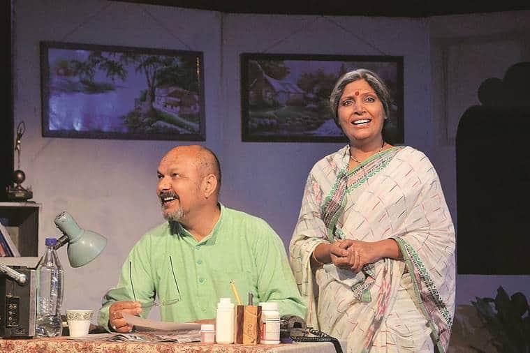 chandigarh theatre festival, theatre festival chandigarh, theatre for theatre, sawan theatre festival, court martial, sandhya chhaya play, punjab kala bhawan, art and culture news, indian express news