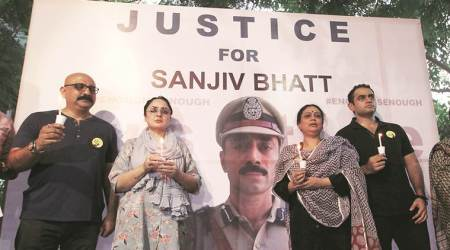 sanjiv bhatt, Gujarat High Court, 1996 NDPS case, Ahmedabad news, ahmedabad city news, gujarat news, indian express news