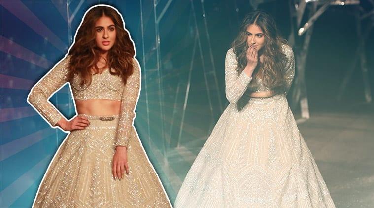 Sara ali khan, Kartik Aaryan , Ibrahim, Falguni Shane Peacock, FDCI India Couture Week