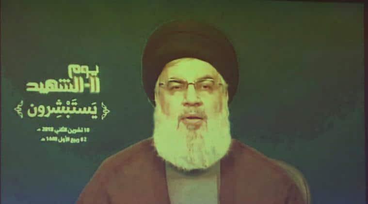 Hezbollah, Sayyed Hassan Nasrallah, Lebanon politics, US-Lebonan relations, DonaldTrump, World news, Indian Express news