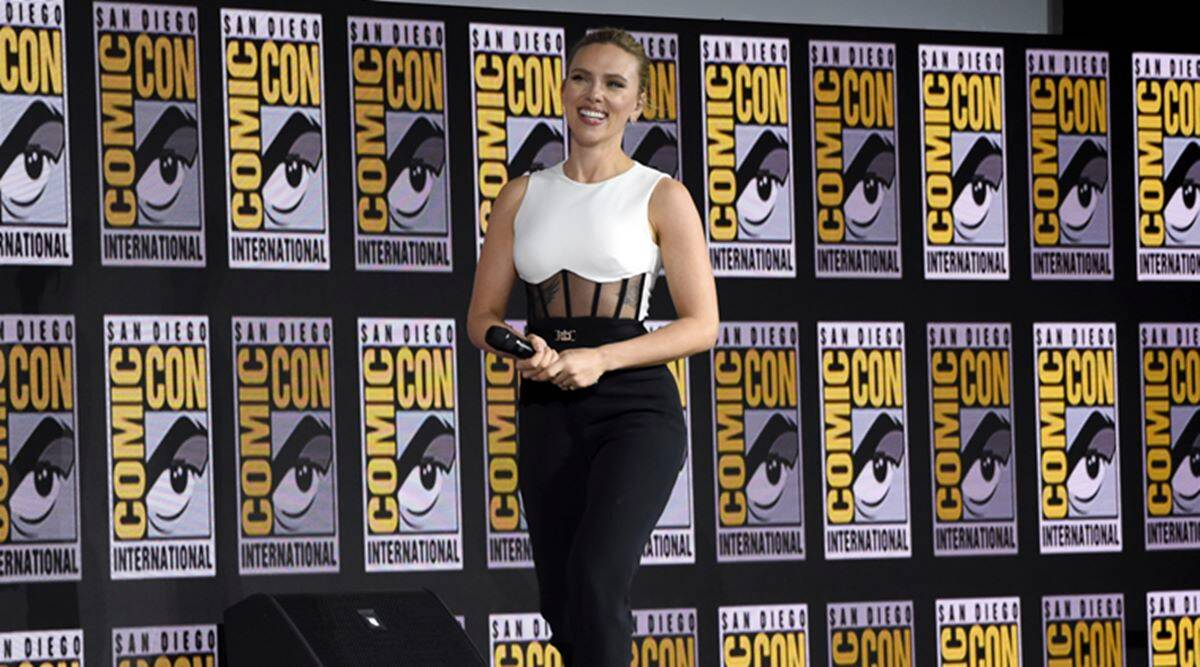 Scarlett Johansson top paid female actor