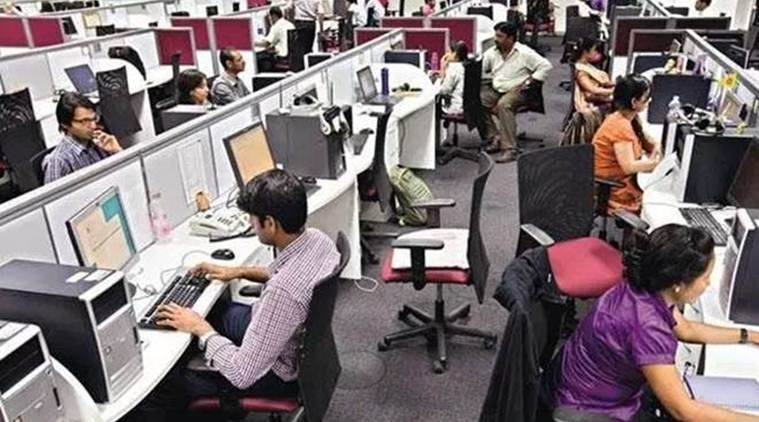 Indian economy, services sector, India services sector, services sector weakening, services sector jobs, services sector growth, indian express
