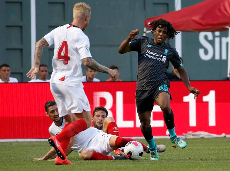 Sevilla beat Liverpool 2-1 in Fenway Park friendly