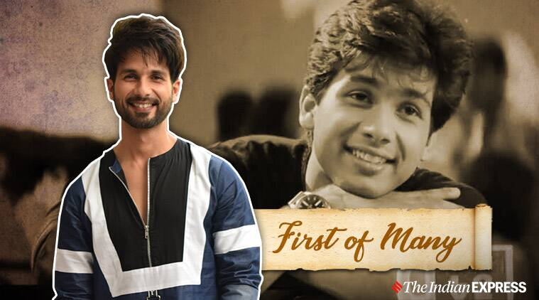 shahid kapoor debut film
