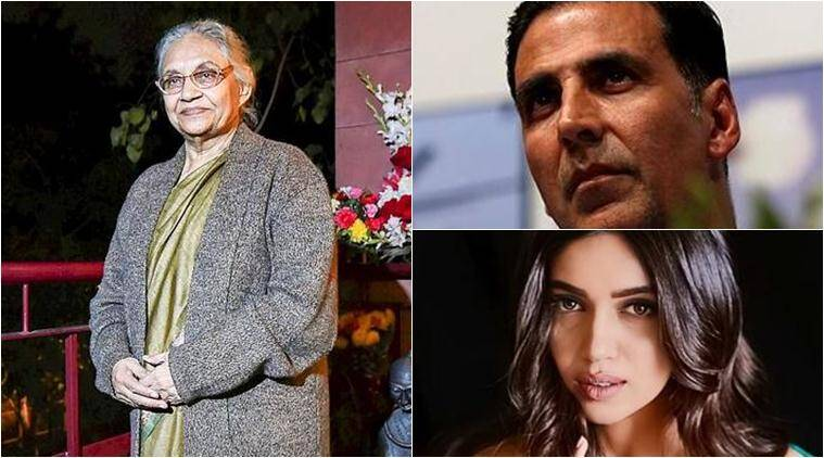 Akshay Kumar, Bhumi Pednekar and others mourn Sheila Dikshit's
