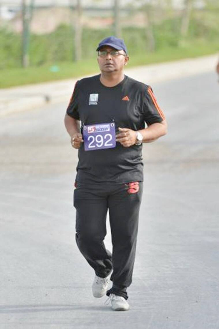 Siddhartha Ghosh, marathon runner, Limca Book of Records, Limca book record holder, indian express