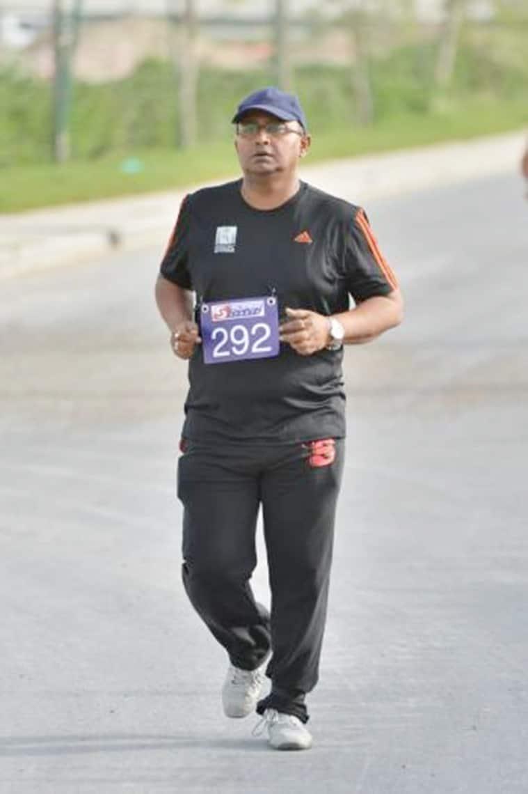 Siddhartha Ghosh, marathon runner, Limca Book of Records, Limca book record holder, indian express
