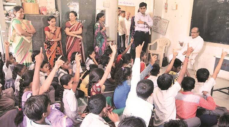 Ahmedabad news, Ahmedabad Education department, Ahmedabad Government school programme, health education in Ahmedabad school, Education news, Indian Express news