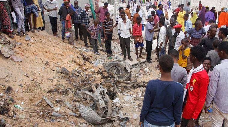 Somalia, Somalia militant attack, Somalia attack, Kismayo, Kismayo attack, Somalia attack death, Al-Shabab, Al-Shabab attack, world news, Indian Express news