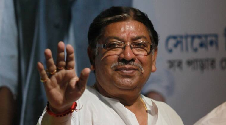 Congress resignations, congress leaders resign, Somen Mitra, Bengal Congress president, Bengal Congress president resigns, indian express