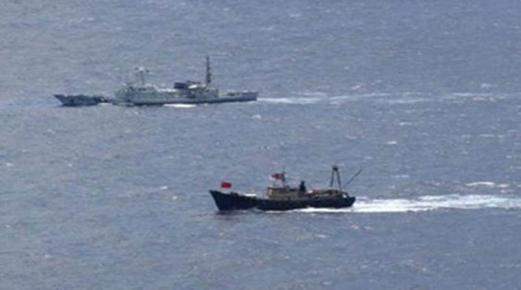 China says U.S. sent ships to S.China Sea to flex its muscles