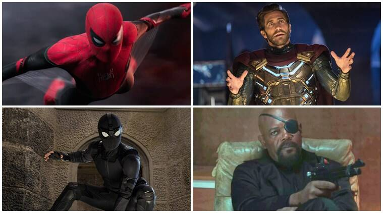 spiderman far from home questions