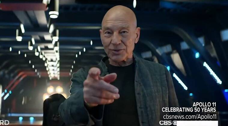 Star Trek Picard Comic-Con trailer: Patrick Stewart goes back into space