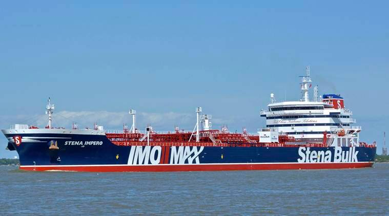 Crew aboard seized British-operated tanker is safe: Iranian TV