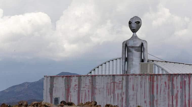 Area 51 raid: They come in peace, so far