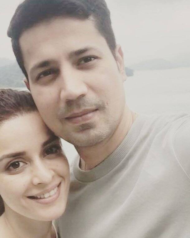 sumeet vyas, ekta kaul honeymoon photos