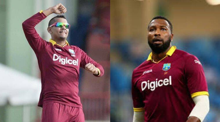 Sunil Narine, Kieron Pollard, West Indies team