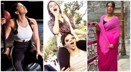 Sunny Leone, Varun Dhawan, Nia Sharma, Celebrity social media photos