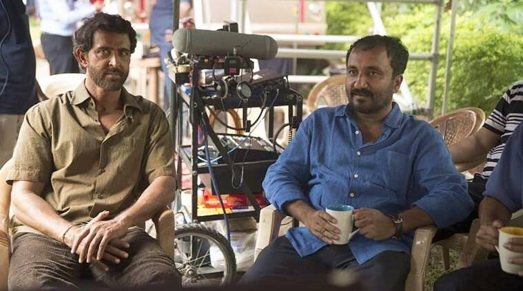 anand kumar and hrithik roshan super 30 stills