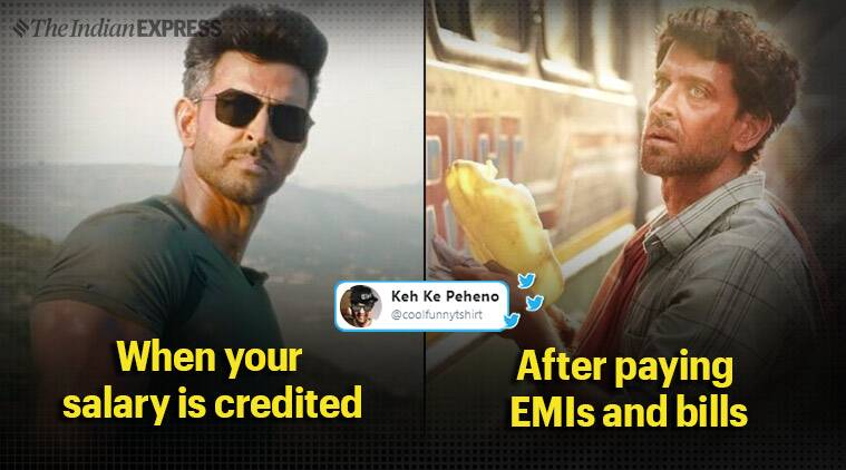 War Teaser Inspires Memes Comparing Hrithik Roshan S Look In Film