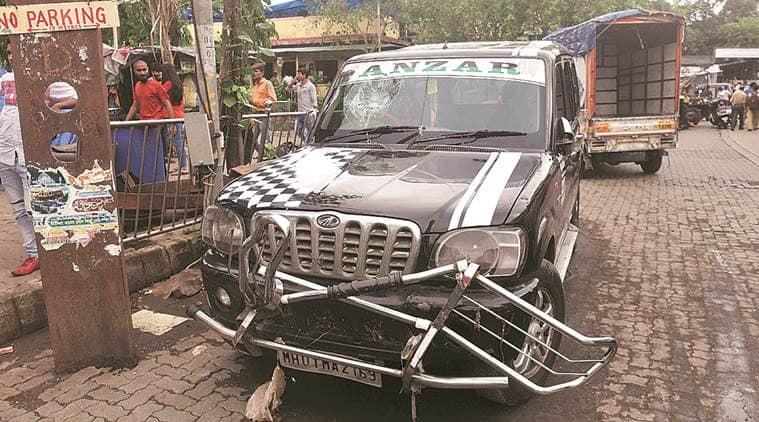 Mumbai, Mumbai rains, Malad subway death, death inside waterlogged Malad Subway, SUV stuck in Malad subway, death inside SUV, Indian express news