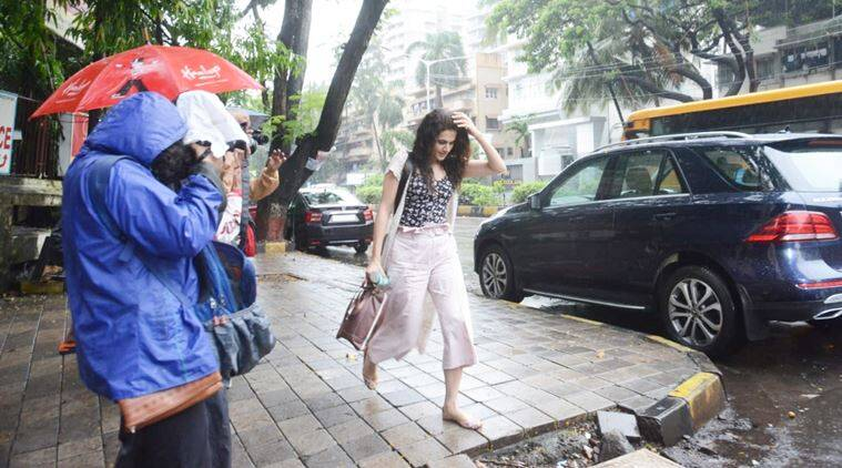 Taapsee Pannu, monsoon tips, haircare tips, indian express, indian express news