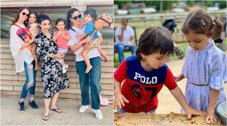 taimur ali khan, inaaya kemmu photos