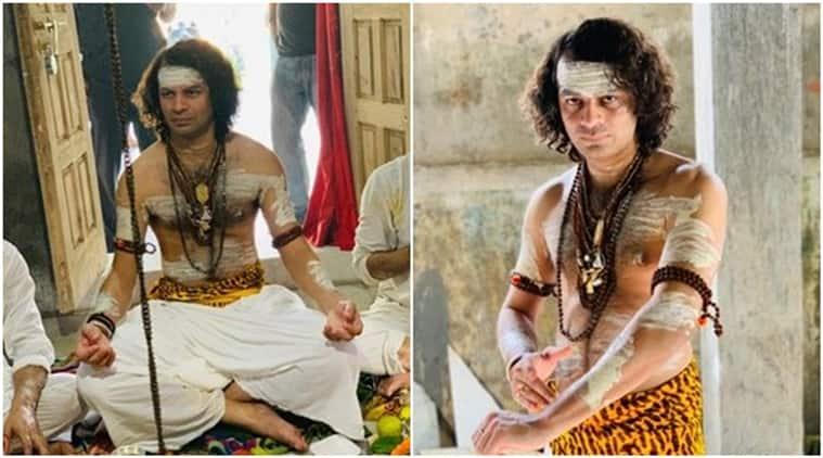 Tej Pratap Yadav, Tej Pratap Yadav lord shiva, Tej Pratap Yadav dressed as shiva, shiva dance, Tej Pratap Yadav krishna, indian express, indian express news
