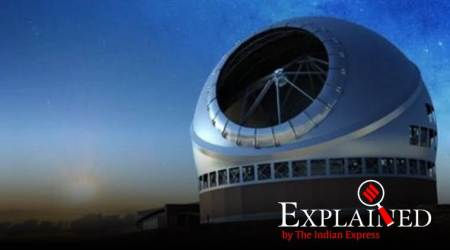 Thirty Meter Telescope, world's largest telescope, telescope in hawaii, hawaii telescope, science news, technology news, indian express