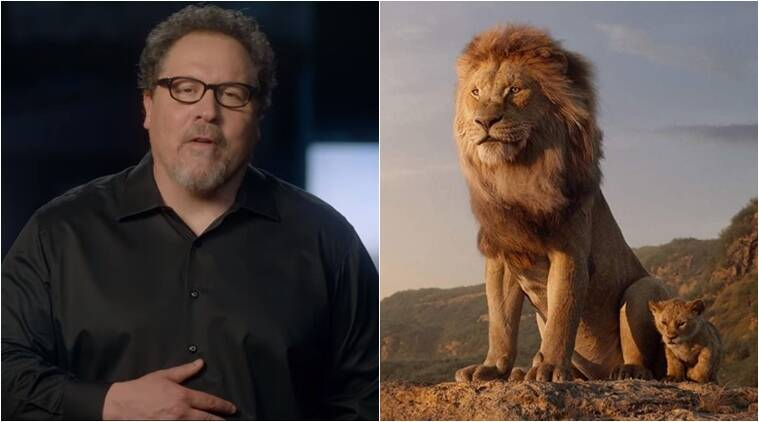 The Lion King director Jon Favreau has a special message for India