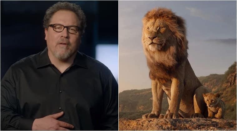 the lion king director jon favreau india message