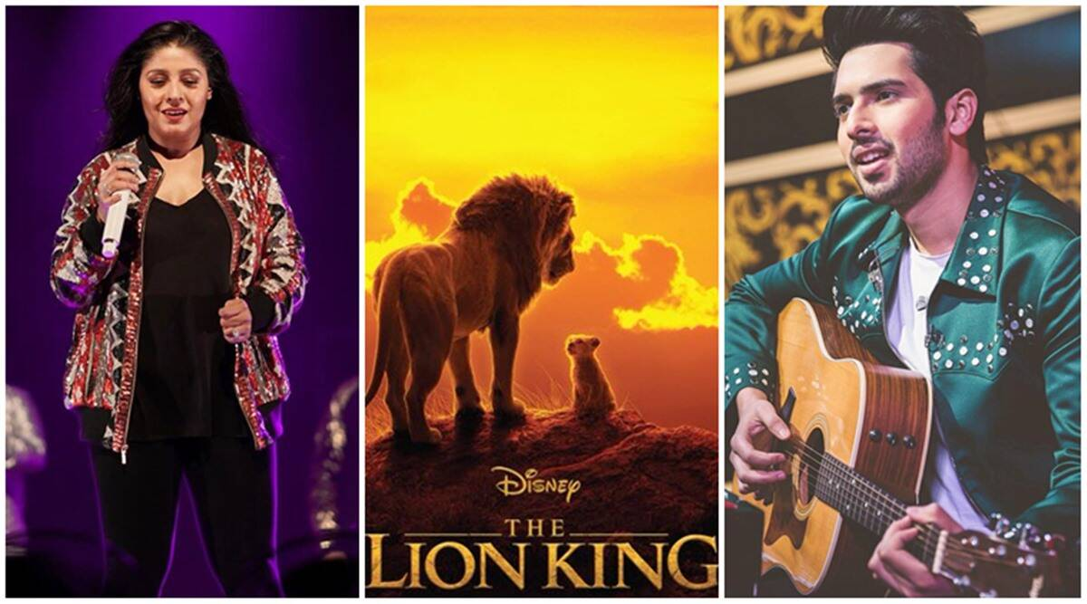 Sunidhi Chauhan And Armaan Malik Lend Their Voices To The Lion King S Hindi Soundtrack Entertainment News The Indian Express