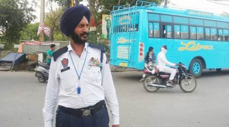 Tiger Hill Vir Chakra now directs traffic in a small Punjab town