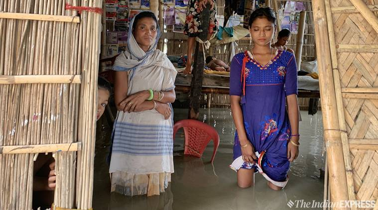 NRC deadline approaching, families stranded in Assam floods stay home, don't want to be rescued