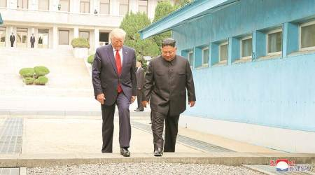 Korean Demilitarized Zone, dmz, what is dmz, what is Korean Demilitarized Zone, donald trump, Kim Jong-Un, indian express