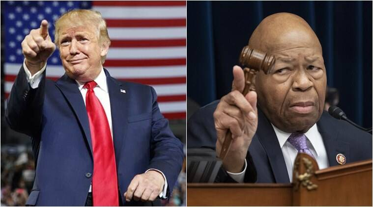Trump lashes out at Elijah Cummings, calls his Baltimore district `rat and rodent-infested mess''