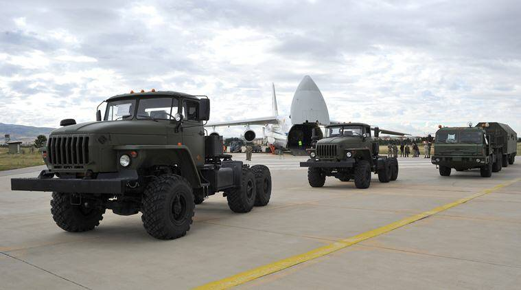 Turkey, Russian Missiles in Turkey, Russian Missiles, Turkey gets Russian missiles, Russian air defense system, NATO, Turkey-Russian relations, Western military alliance, World news, Indian Express news