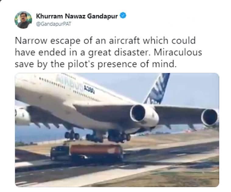 Khurram Nawaz Gandapur, pakistan, pakistan minister, Secretary General of Pakistan Awami Tehreek, Pakistan, pak min tweet, viral video, trending, indian express, indian express news