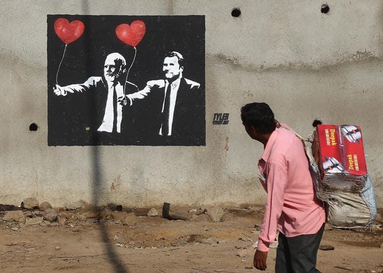 mumbai, mumbai street art, street art, tyler, tyler street art, tyler street artist, graffiti, mumbai walls graffiti, jai shri ram